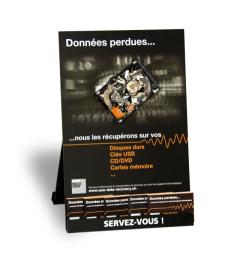 SOS Data recovery présentoire